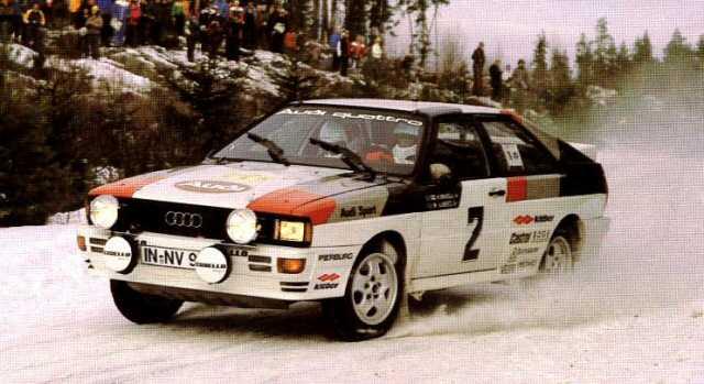 Audi « Group B Rally  Audi Quattro Sport on 1981 audi quartz, 1981 audi a1, 1981 audi coupe gt, 1981 audi a4, 1981 audi fox, 1981 audi wagon,