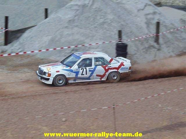 mersedes rally